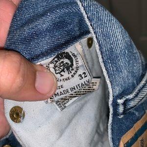 Nike Jeans - Diesel jeans size 32x29 men's button fly